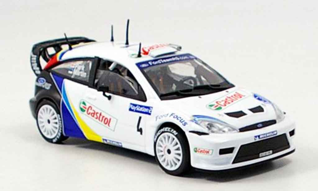 Ford Focus RS WRC 1/43 Solido No.4 miniature