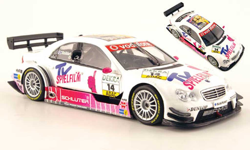 Mercedes Classe C DTM 1/43 Minichamps No.14 Team Mucke 2007 miniature