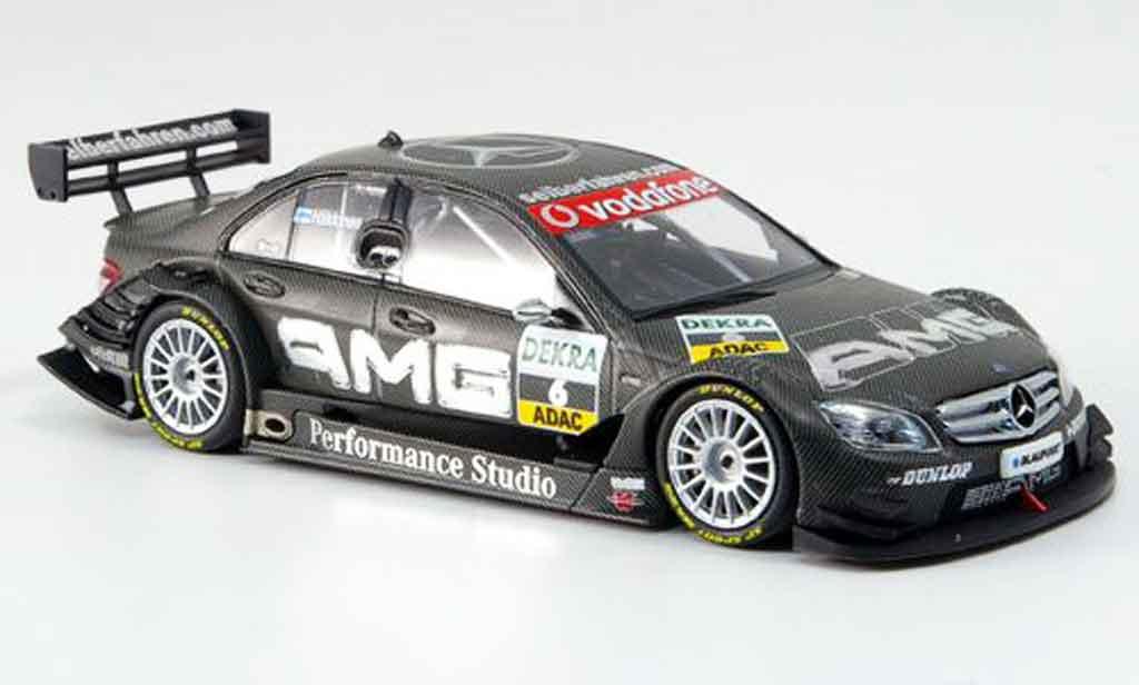 Mercedes Classe C 1/43 Minichamps DTM No.6 AMG Performance Studio DTM 2007 diecast model cars