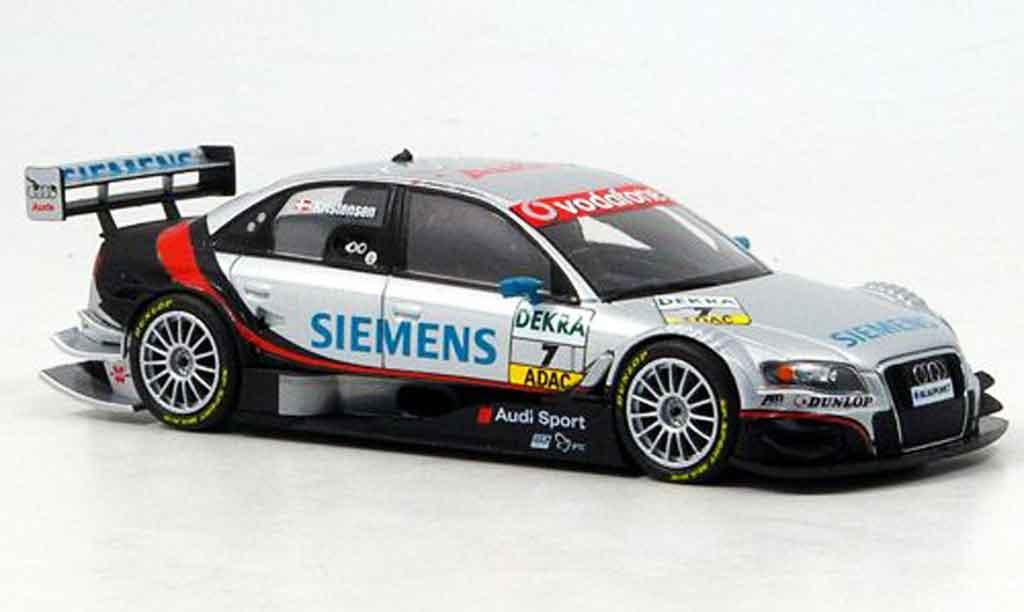 Audi A4 DTM 1/43 Minichamps Siemens Kristensen 2007 diecast