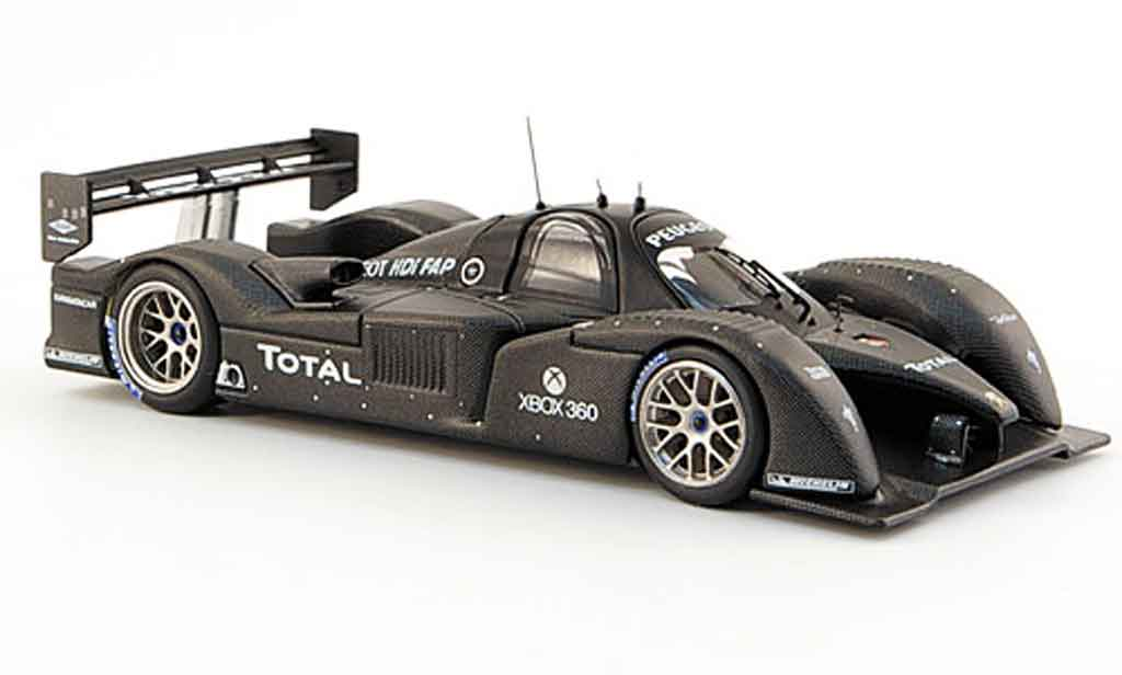 Peugeot 908 2007 1/43 IXO v12 hdi test car paul ricard 2007 miniature