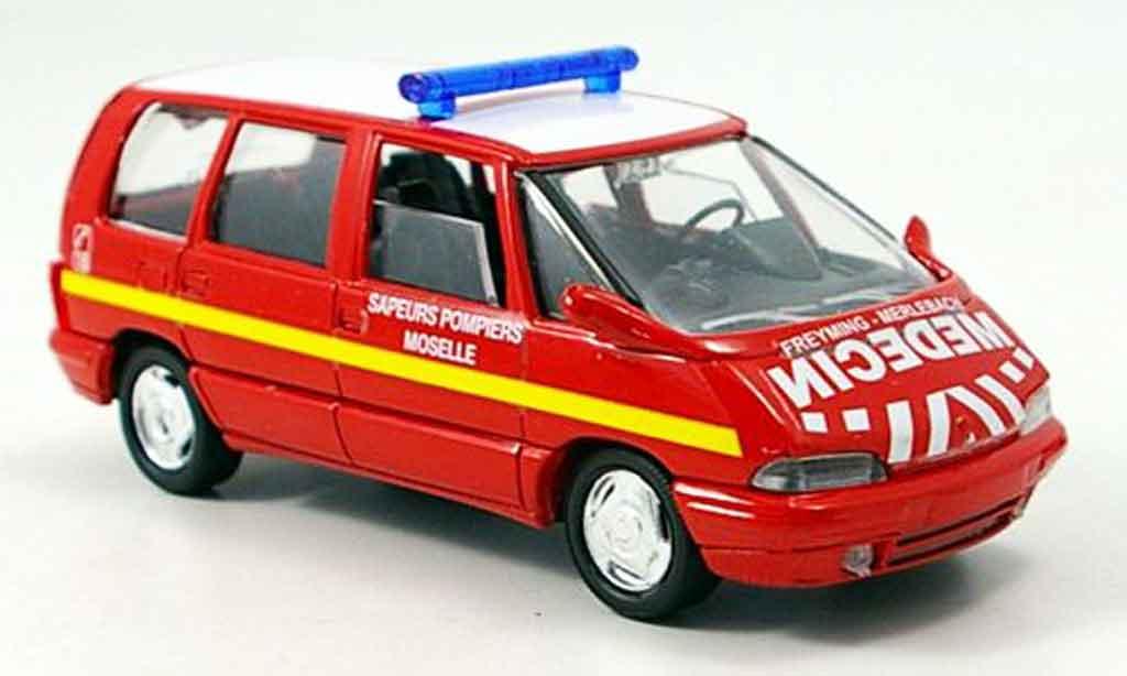 Renault Espace 1/43 Verem pompier miniature
