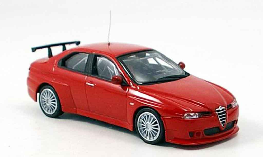 Alfa Romeo 156 GTA WTCC 1/43 M4 prova red 2006 diecast model cars