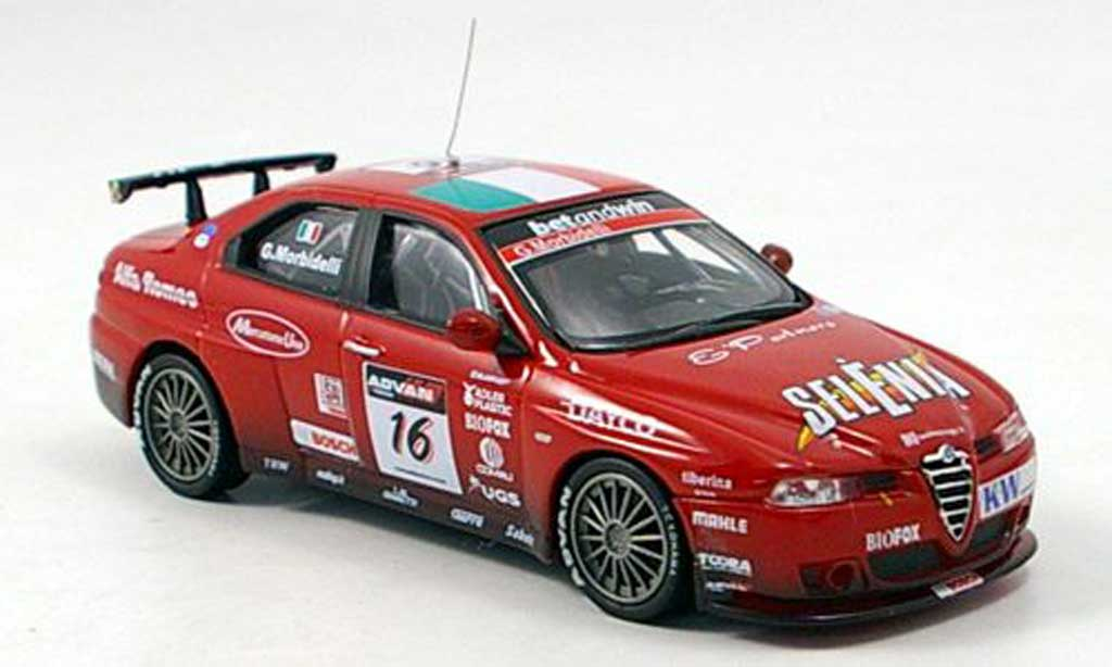 Alfa Romeo 156 GTA WTCC 1/43 M4 No.16 Morbidelli WTCC 2006 miniature