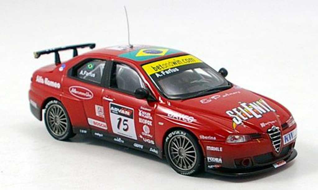 Alfa Romeo 156 GTA WTCC 1/43 M4 No.15 Farfus diecast model cars