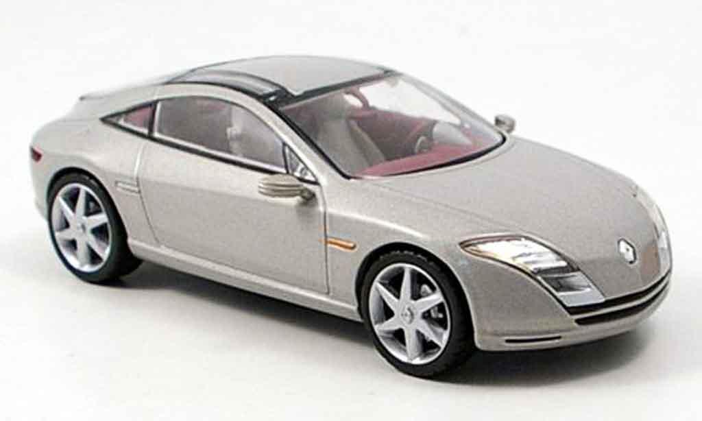 Renault Fluence 1/43 Norev gray beige concept diecast