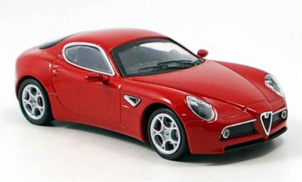 Alfa Romeo 8C Competizione 1/43 M4 rouge 2007 miniature