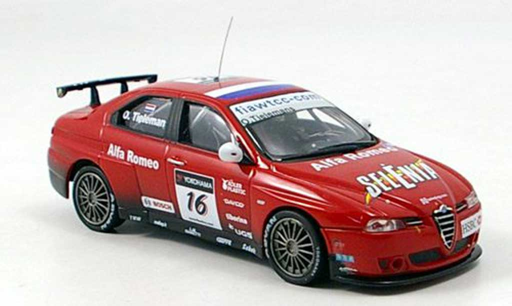 Alfa Romeo 156 GTA WTCC 1/43 M4 No. 16 O.Tielemans WTCC 2007 diecast