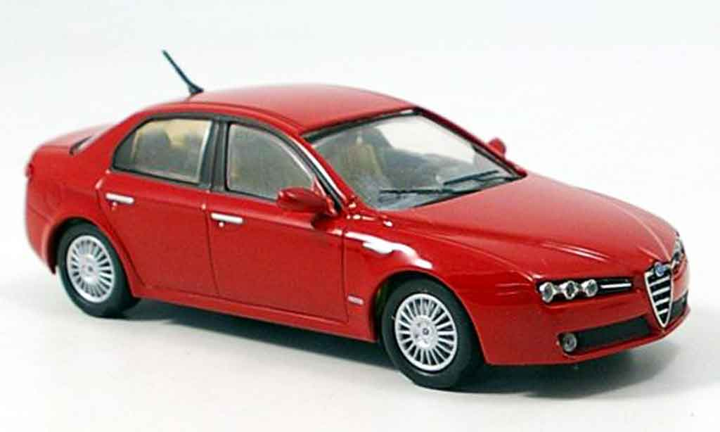 Alfa Romeo 159 1/43 M4 red 2005 diecast
