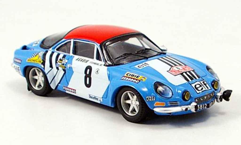 Alpine A110 1/43 Trofeu no.8 nicolas laverne rallye monte carlo 1975 diecast model cars