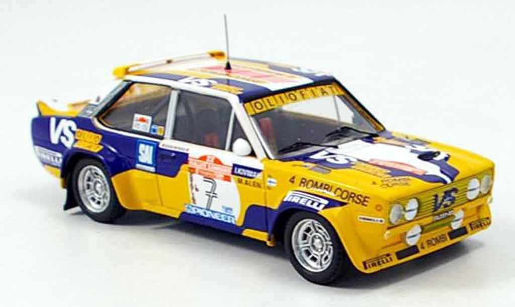Fiat 131 1/43 Trofeu Abarth Kivimaki Rally San Remo 1980 diecast