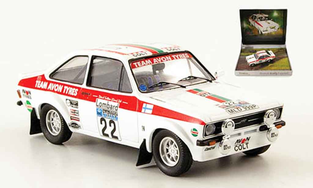Ford Escort MK2 1/43 Trofeu MK2 British Rally Legends RAC Rally 1976 miniature