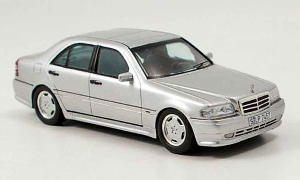 Mercedes Classe C 1/43 Spark C36 AMG (W202) grise metallisee miniature