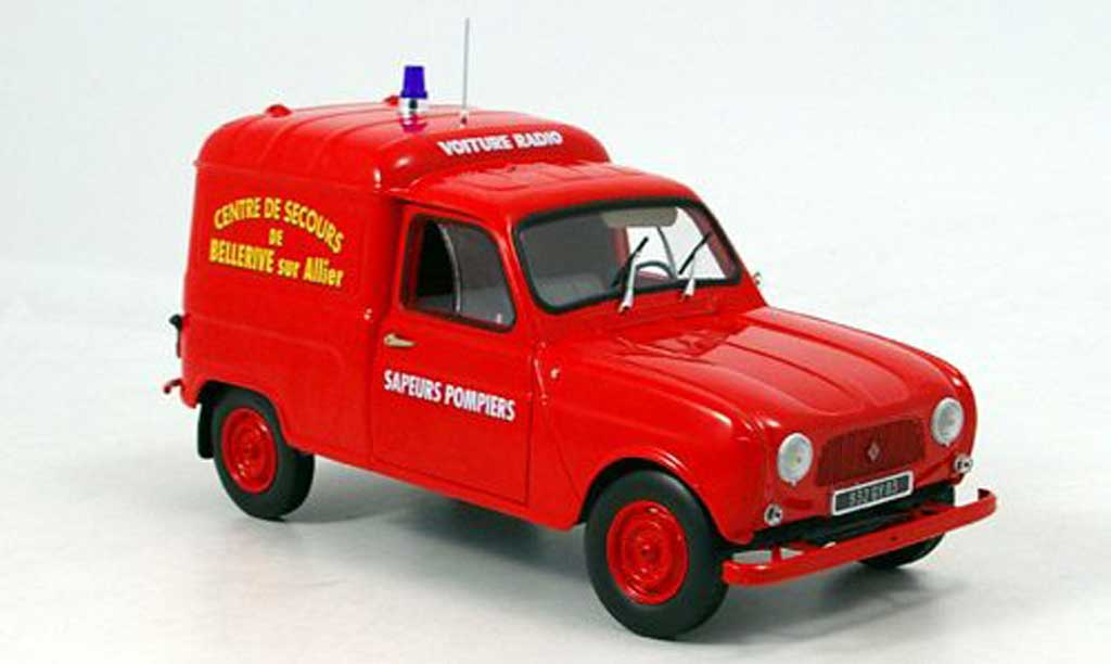 Renault 4 F4 1/18 Norev F pompier frankreich 1965 miniature
