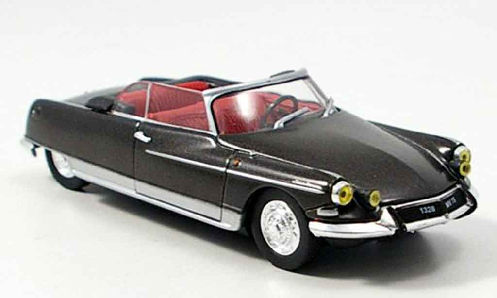Citroen DS 21 1/43 Norev cabriolet palm beach grise 1966