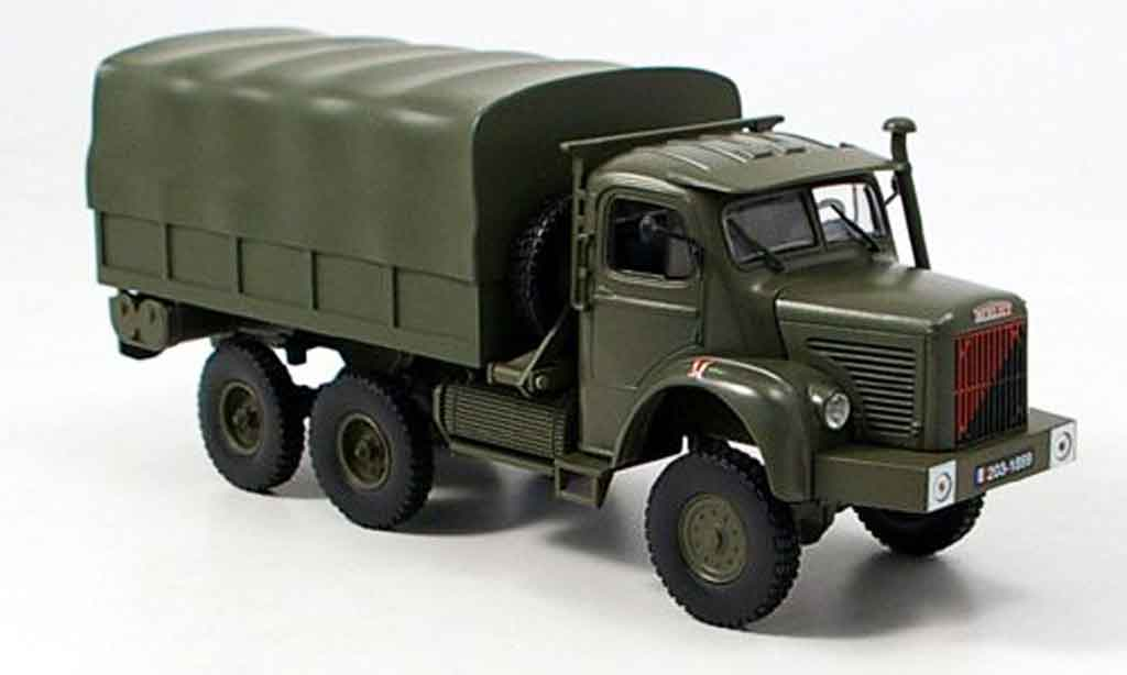 Berliet GBC 1/43 Norev 8 verte 6x6 Franzosisches Militar 1958 miniature