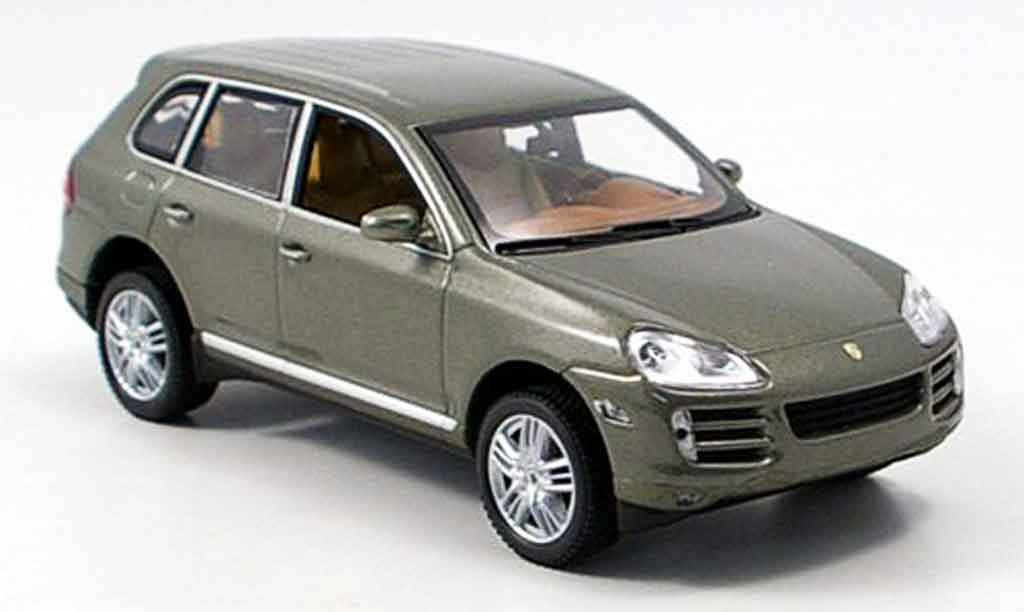 Porsche Cayenne S 1/43 Minichamps verte miniature