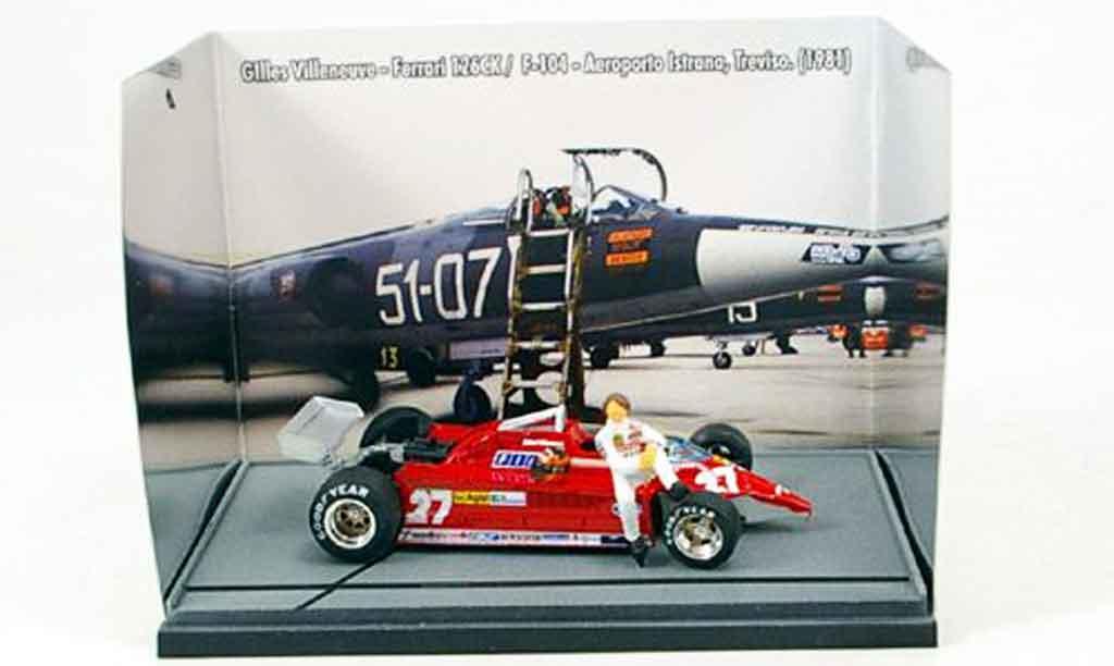 Ferrari 126 1981 1/43 Brumm CK turbo villeneuve starfighter duell miniature