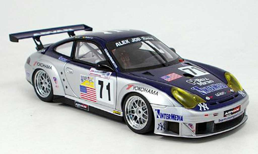 Porsche 996 GT3 RSR 1/18 Autoart no.71 alms 2005 miniature