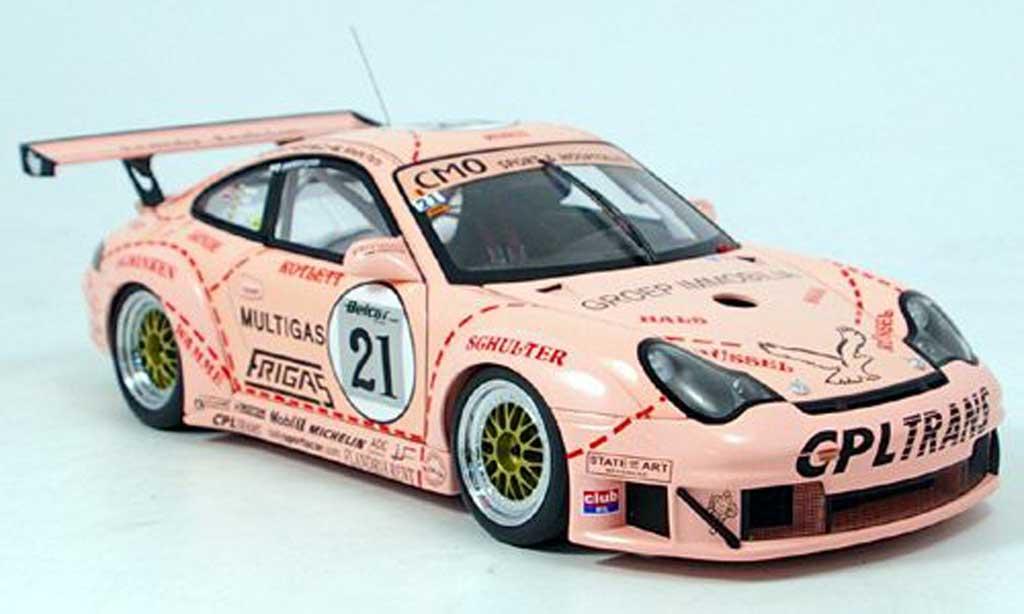 Porsche 996 GT3 RSR 1/18 Autoart zolder 2006