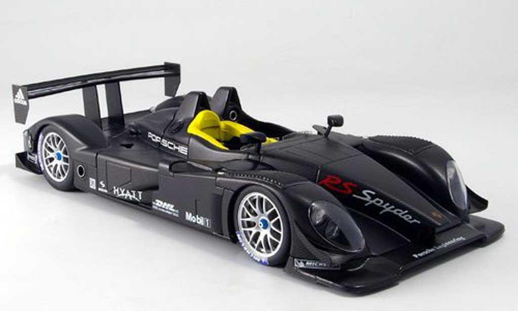 Porsche RS Spyder 1/18 Autoart carbon fiber livery le mans 2007 miniatura