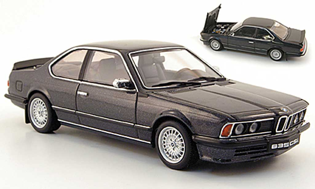 Bmw 635 CSI 1/43 Autoart anthrazit miniature
