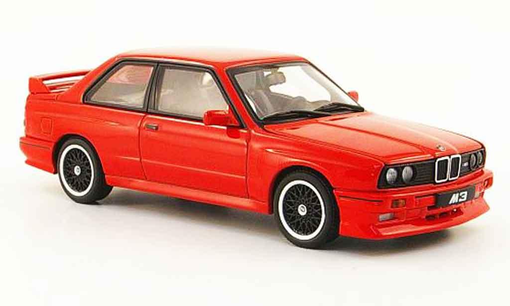 Bmw M3 E30 1/43 Autoart Evolution Cecotto Edition red 1989 diecast model cars