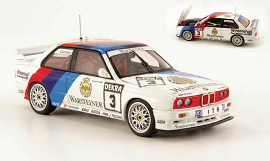 Bmw M3 E30 1/43 Autoart No.3 J.Cecotto DTM 1991 diecast model cars