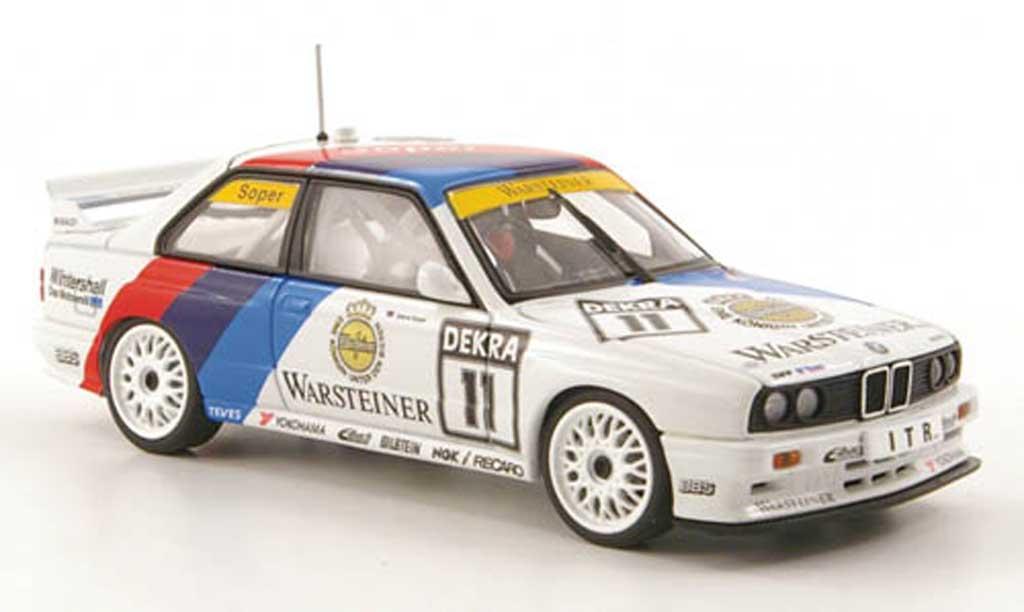 Bmw M3 E30 1/43 Autoart No.11 Warsteiner S.Soper DTM Saison 1991 miniature
