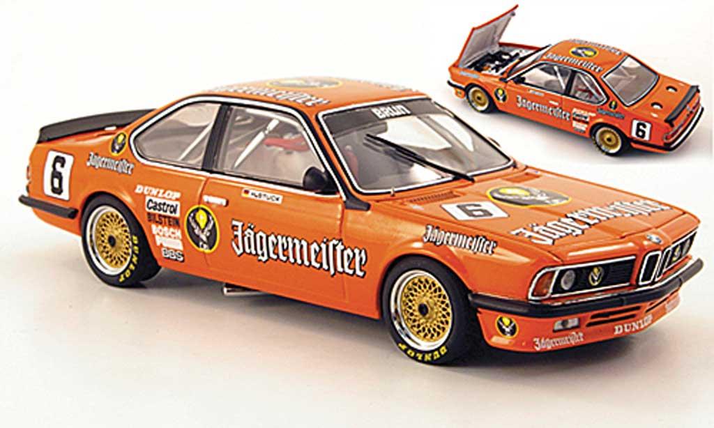 Bmw 635 CSI 1/43 Autoart Gruppe A No.6 Jagermeister H.-J.Stuck 1984 miniatura