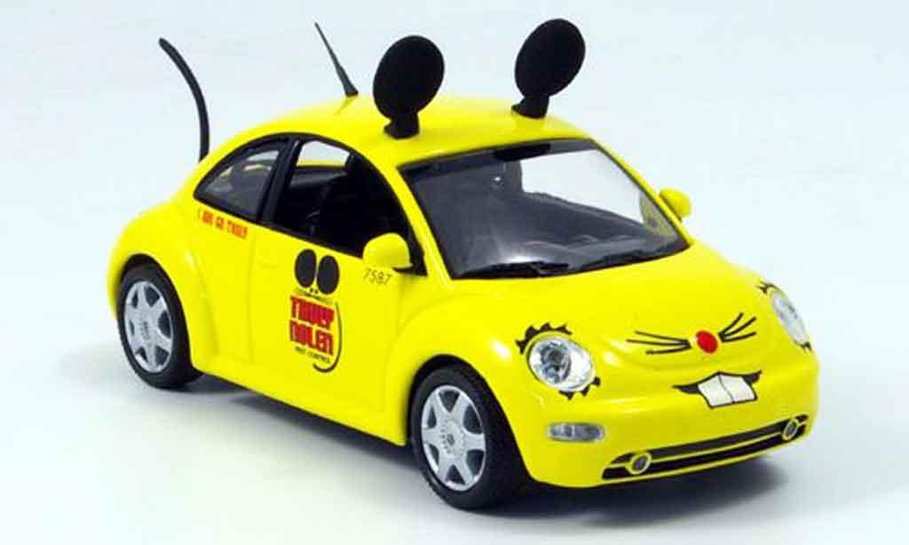 Volkswagen New Beetle 1/43 Minichamps truly nolen pest control miniatura