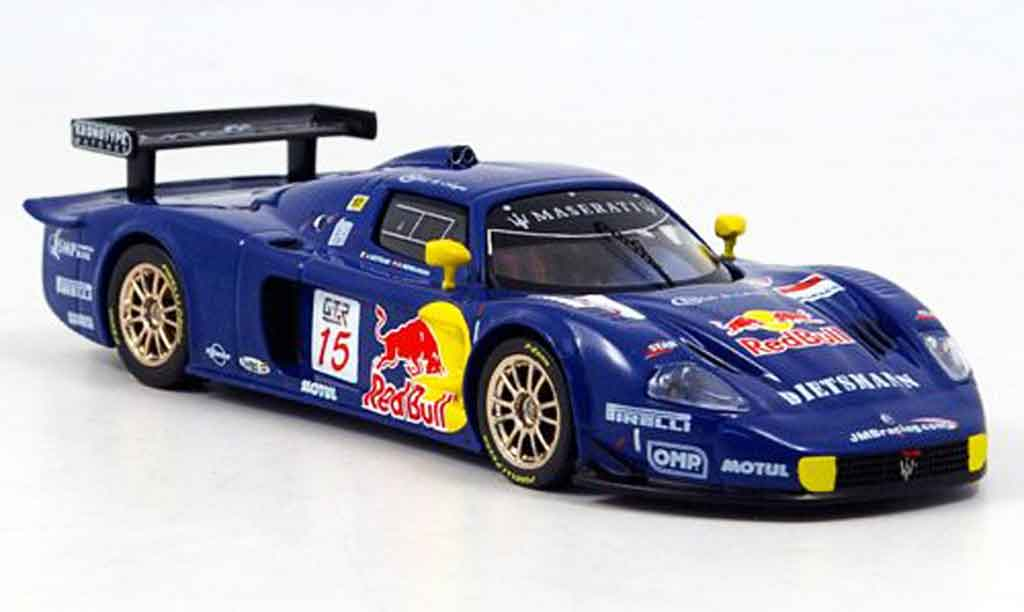 Maserati MC12 1/43 IXO no.15 sieger fia gt magny cours 2005 diecast model cars