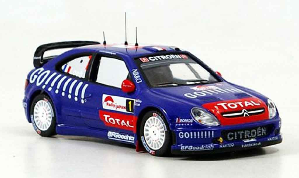 Citroen Xsara WRC 2006 1/43 IXO no.1 sieger rallye japan miniature
