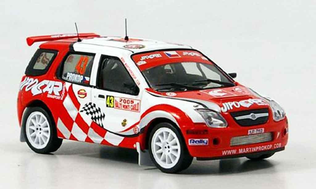 Suzuki Ignis 1/43 IXO S1600 No.43 JipoCar Rally Monte Carlo 2005 miniature