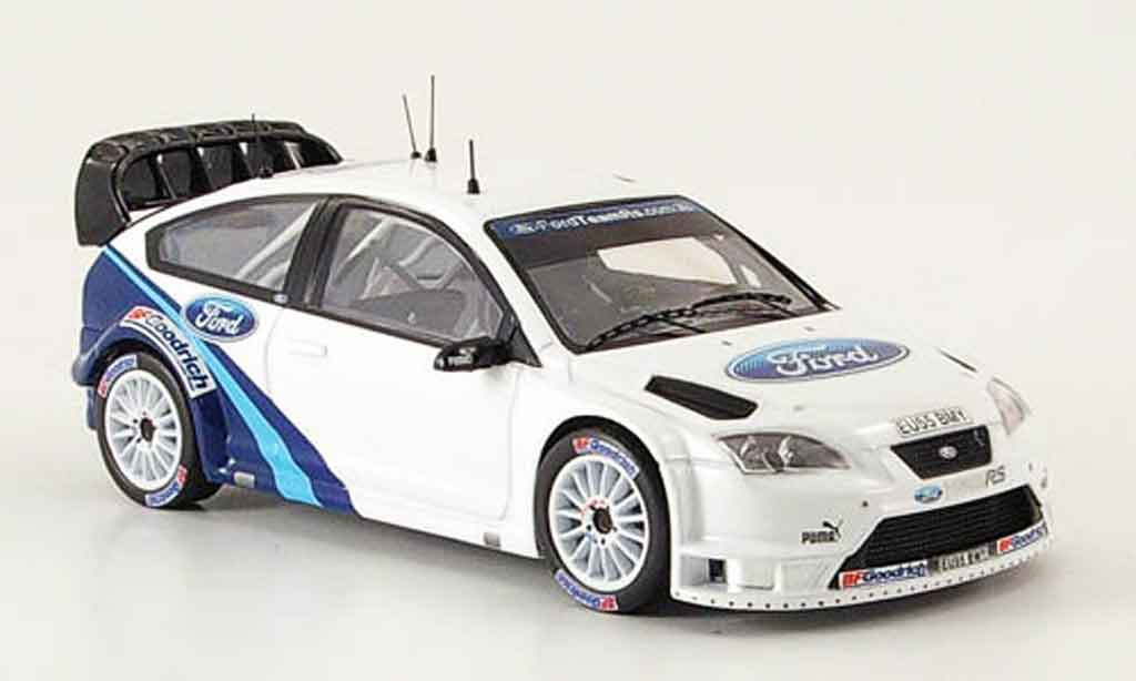 Ford Focus RS WRC 1/43 IXO Gronholm Test Car 2006 miniature
