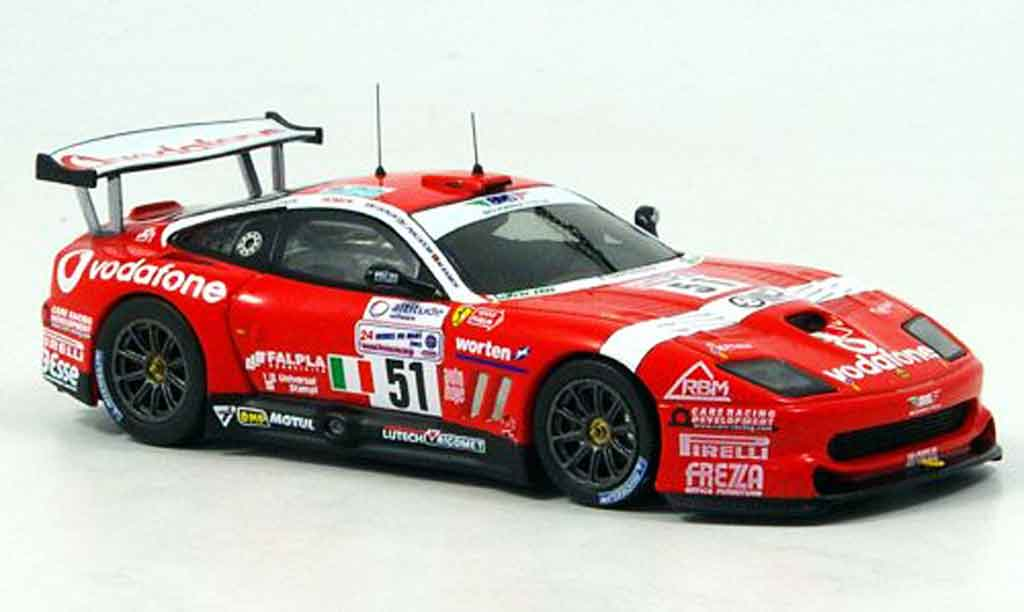 Ferrari 550 Maranello 1/43 IXO no.51 le mans 2005 diecast model cars