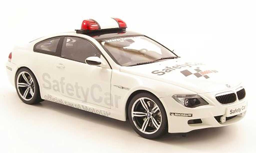 Bmw M6 E63 1/18 Kyosho safety car motogp 2006 modellino in miniatura