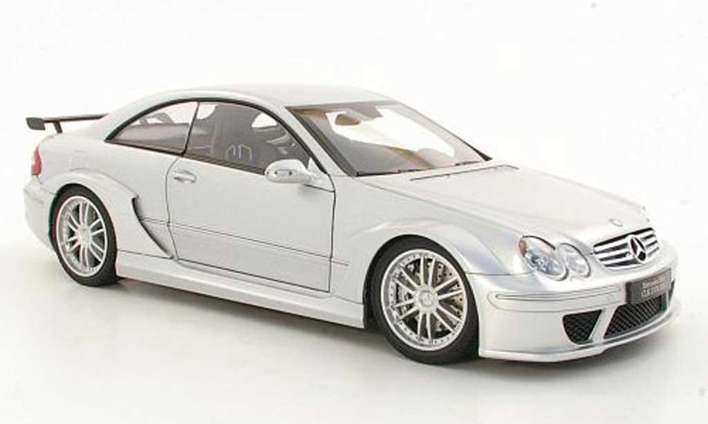 Mercedes Classe CL DTM 1/18 Kyosho K DTM AMG grise metallisee Strassen version miniature