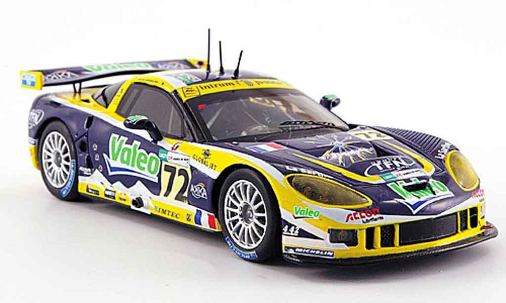 Chevrolet Corvette C6 1/43 Spark R No.72 Valeo 24h Le Mans 2007 diecast