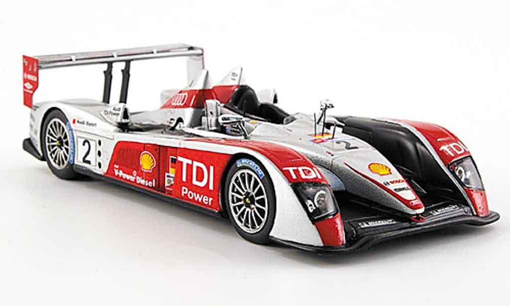 Audi R10 2007 1/43 Spark TDI Sport No.2 24h Le Mans miniature