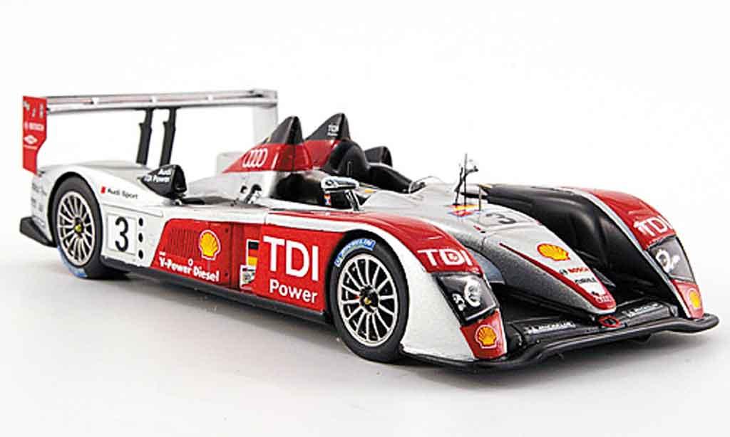 Audi R10 2007 1/43 Spark TDI Sport No.3 24h Le Mans miniature