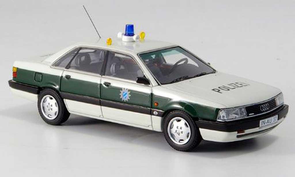 Audi 200 1/43 Neo police Baviere coche miniatura