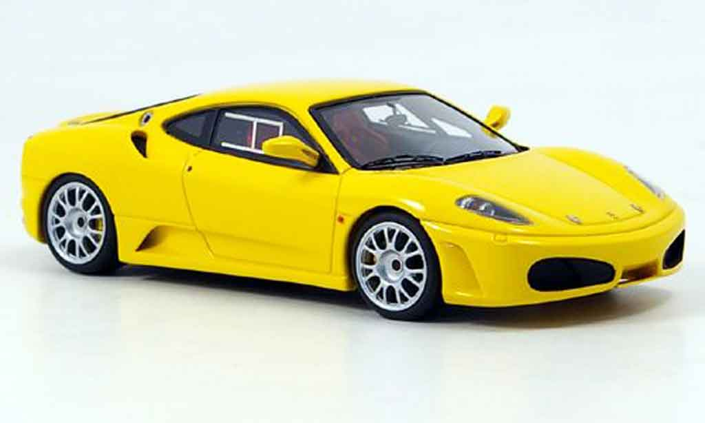 Ferrari F430 Challenge 1/43 Look Smart street yellow diecast