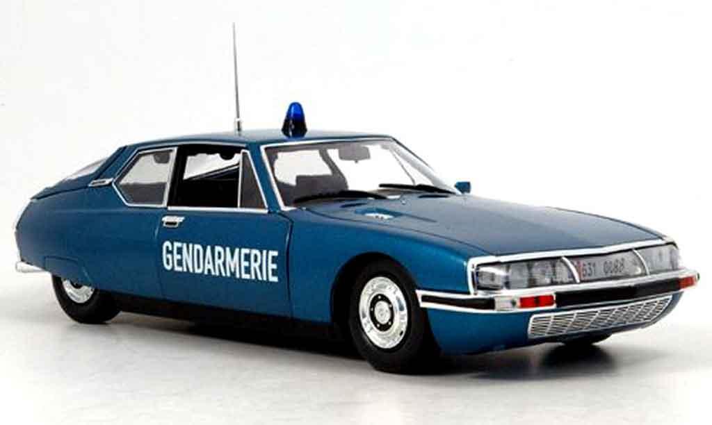 Citroen SM 1/18 Norev gendarmerie polizei frankreich 1974 miniature
