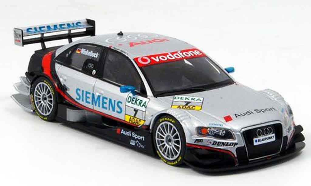 Audi A4 DTM 1/43 Minichamps Winkelhock Team Abt 2007 miniature