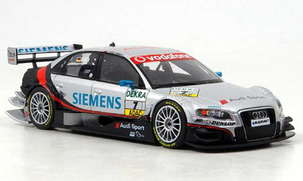 Audi A4 DTM 1/43 Minichamps No.7 F.Biela Sport Team Abt Oschersleben 2007 diecast model cars