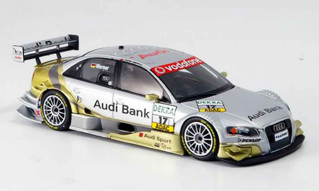 Audi A4 DTM 1/43 Minichamps Werner Sport Team 2007 diecast model cars