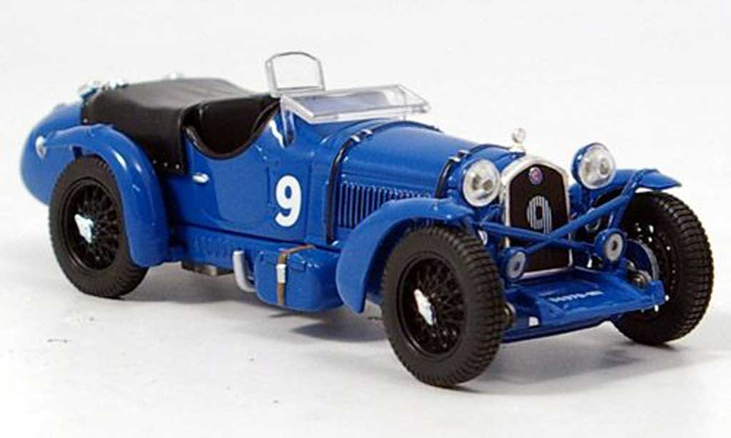 Alfa Romeo 8C 1/43 IXO No.9 Etacelin / Chinetti 24h Le Mans 1934 miniature