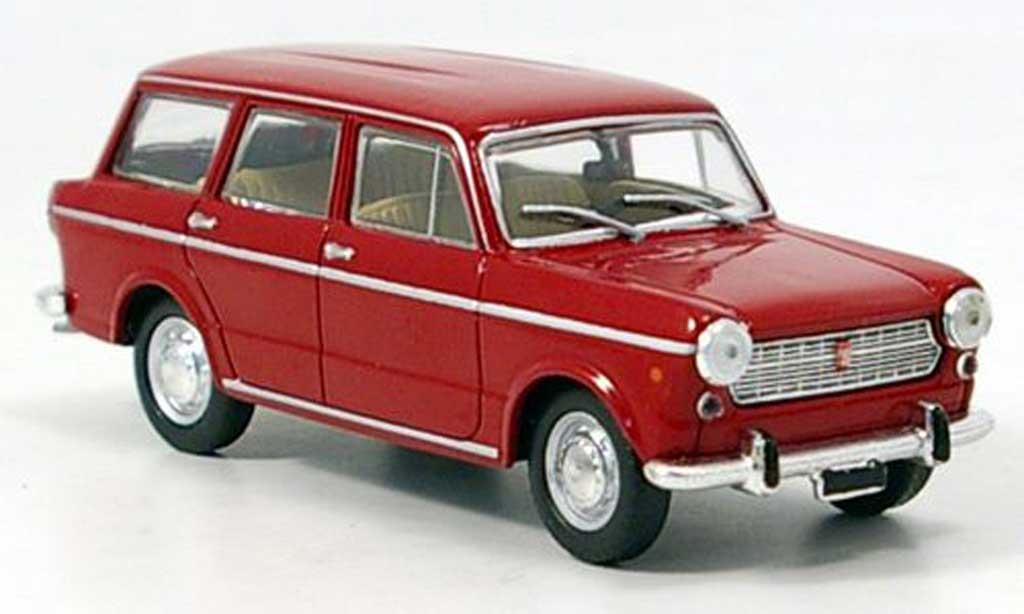 Fiat 1100 1/43 Starline R Familiare rouge 1966 miniature