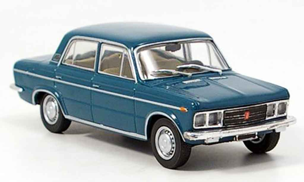 Fiat 125 1/43 Starline Special bleu 1968 miniature